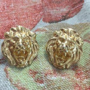 Lion Pierced earrings